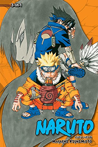 Naruto 3-in-1 edition, Volume 3