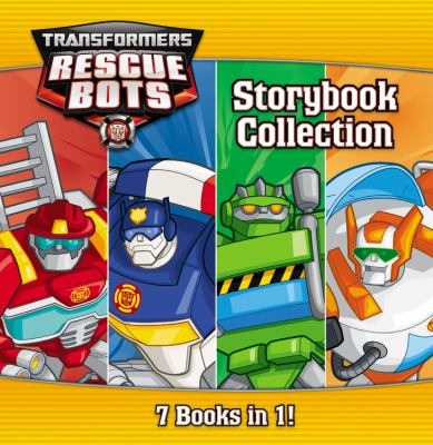 Transformers Rescue Bots storybook collection.